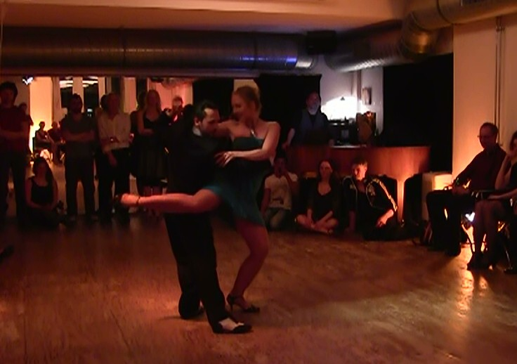 Traditional tango performance