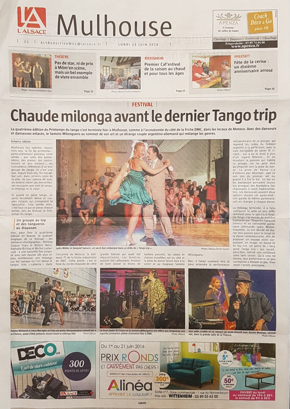 Review Tango Trip in L'Alsace