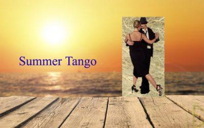 Mondays 17 & 24 July: Tango Improvisation Open Class by Ezequiel & Joli
