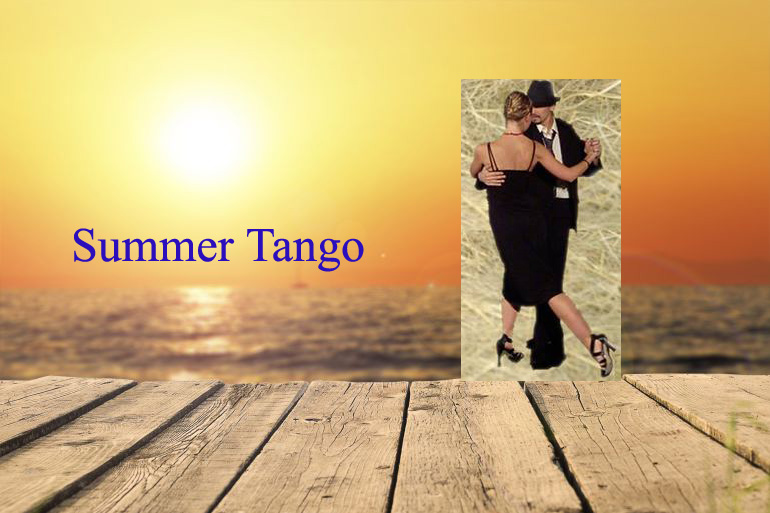 Mondays 17 & 24 July: Tango Improvisation Open Class by Ezequiel & Joli