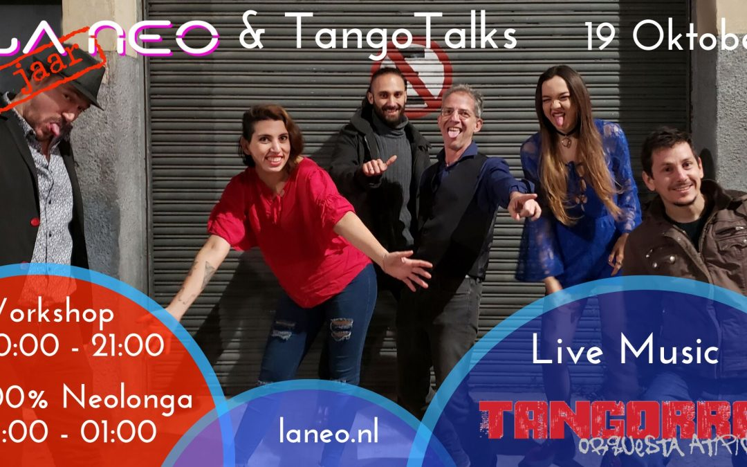 Tangorra at La Neo & TangoTalks
